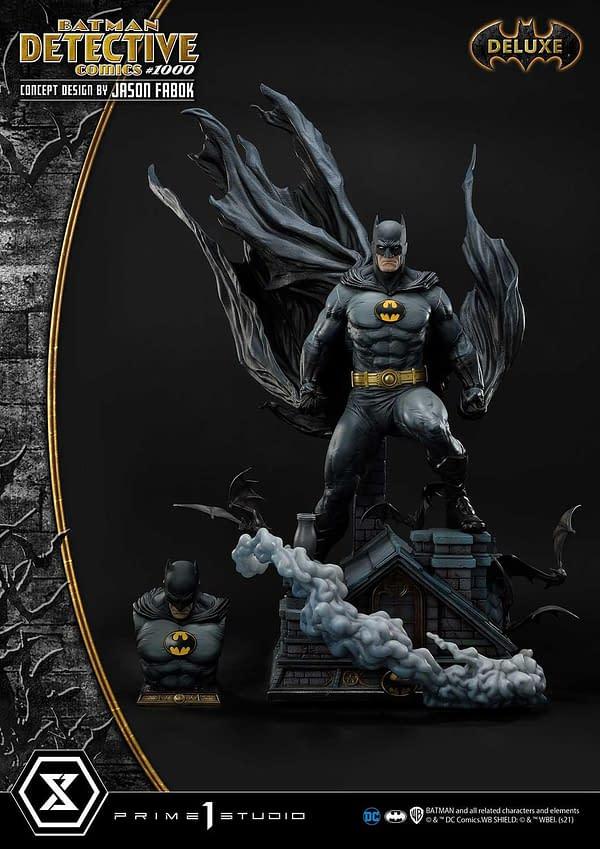 Batman Detective Comics #1000 Statue Arrives From Prime 1 Studio