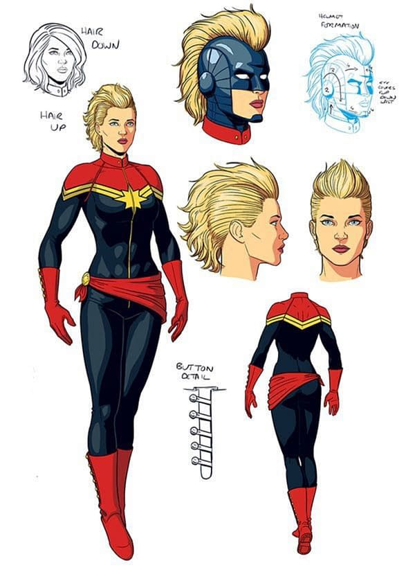 Jamie McKelvie Returns To Captain Marvel For One Issue Only