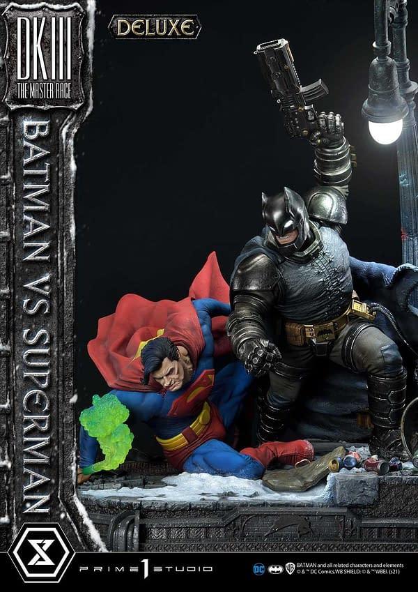 Batman The Dark Knight Returns Comes to Life With Prime 1 Studio