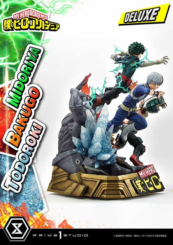 My Hero Academia Heroes Unite For New Prime 1 Studio Statue