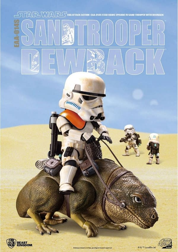 Star Wars Sandtrooper and Dewback Set Coming From Beast Kingdom
