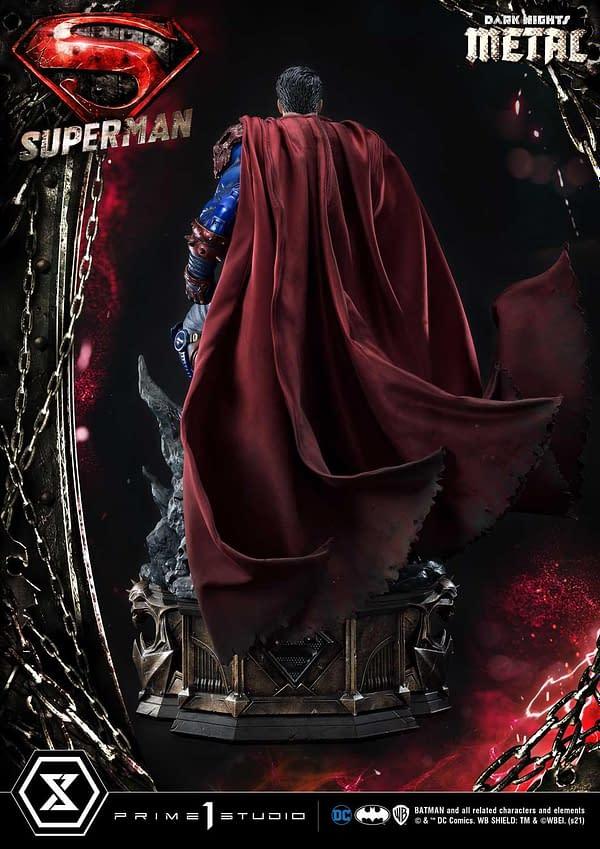 Evil Superman From Dark Nights Metal Arrives From Prime 1 Studio