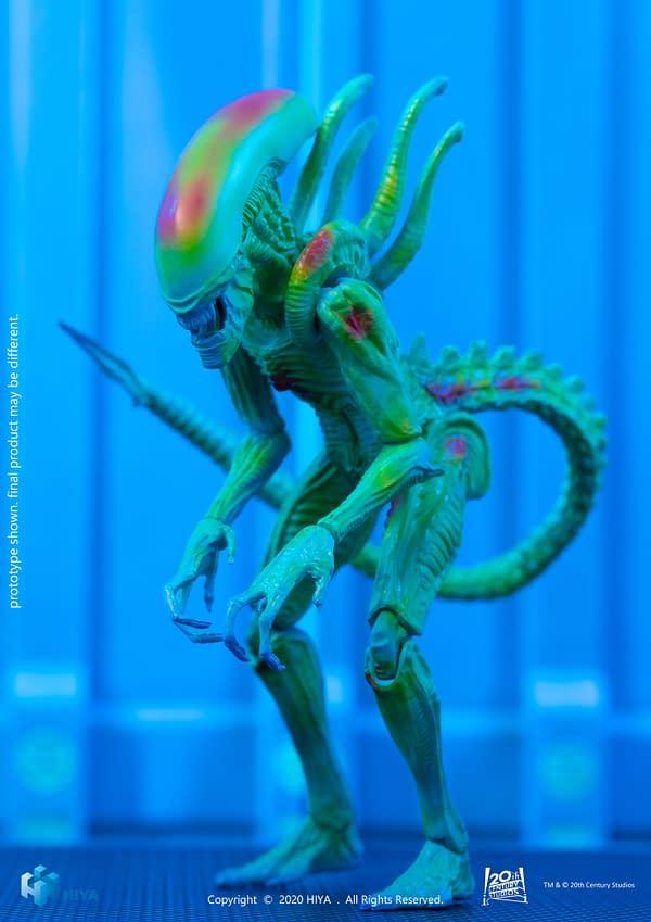 Hiya Toys Reveals New Alien Vs. Predator 1/18 Scale Figures