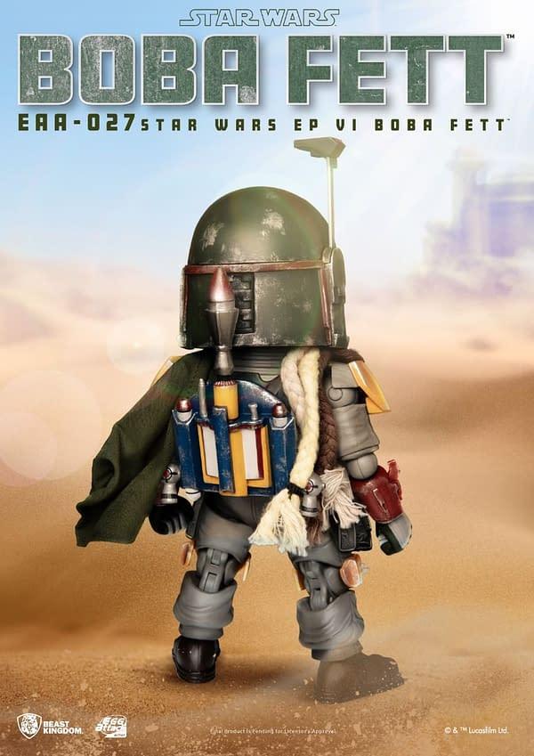 Star Wars Boba Fett Joins Beast Kingdom As He Hunts His Next Bounty