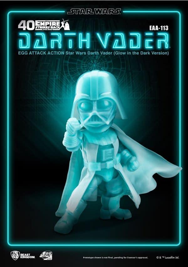Darth Vader Glows in the Dark With Beast Kingdom