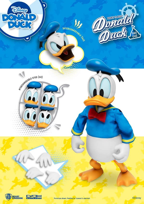 Donald Duck is Back With New Disney Figure From Beast Kingdom