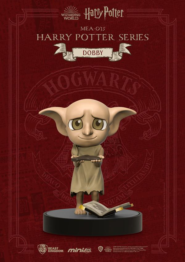 Beast Kingdom Celebrates 20 Years of Harry Potter With Mini Figures