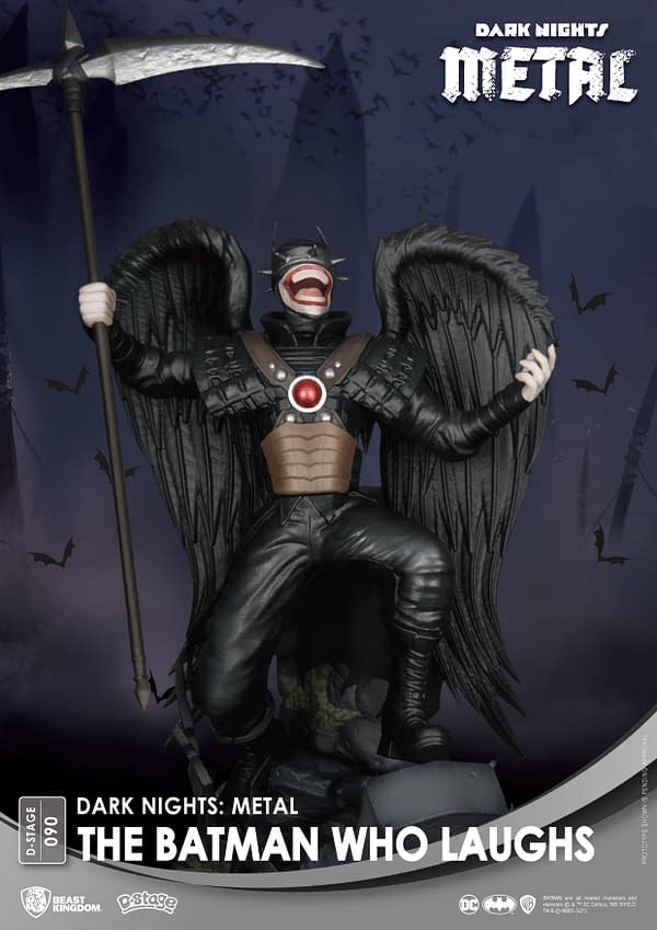 The Batman Who Laughs is Back With A New Beast Kingdom Statue