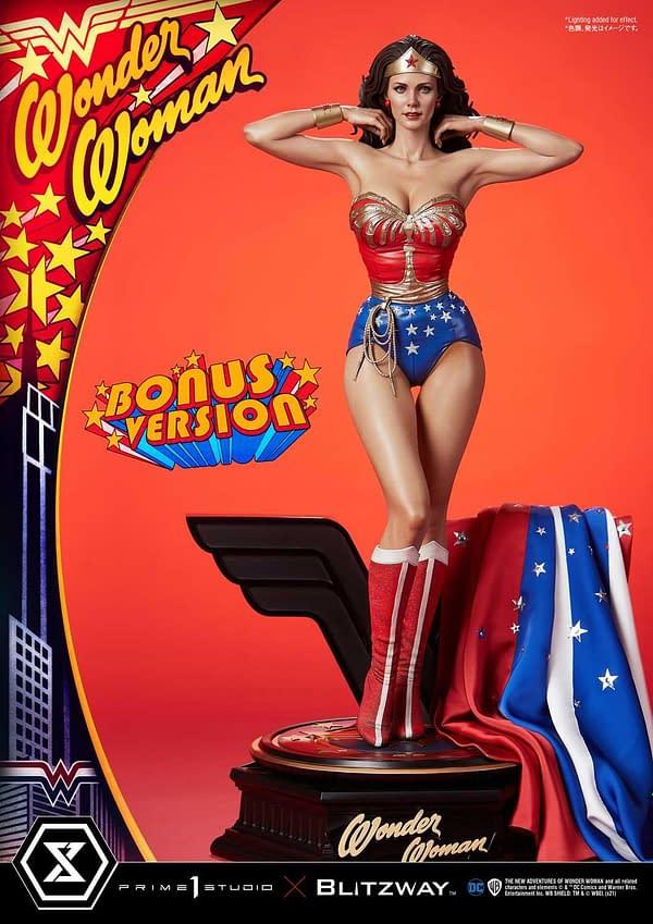 Prime 1 Studios Reveals Wonder Woman TV Series Statue