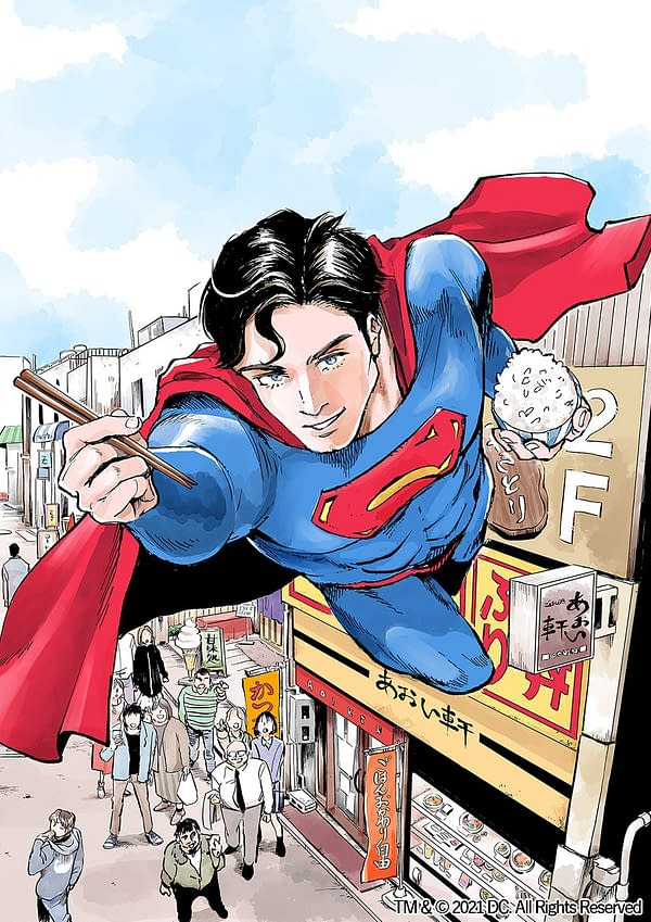 In Superman vs. Meshi, the Man of Steel proves once and for all why he's better than Batman