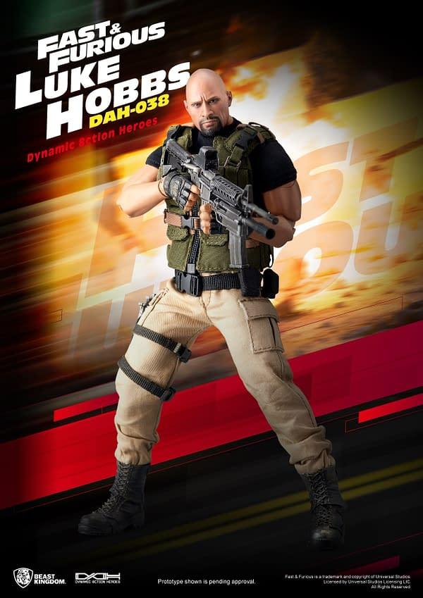 Luke Hobbs Returns As Beast Kingdom's Next Summer Exclusive