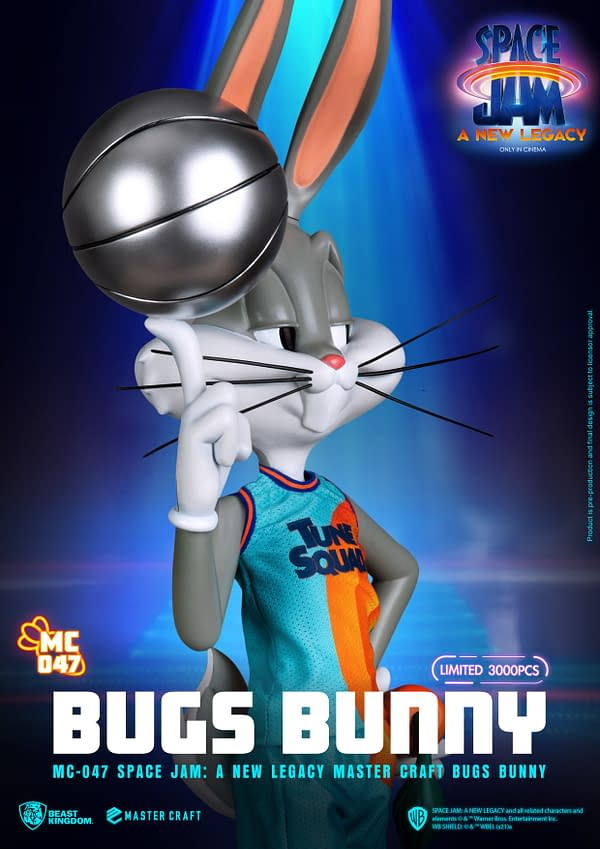 Space Jam: A New Legacy Bugs Bunny Comes To Beast Kingdom