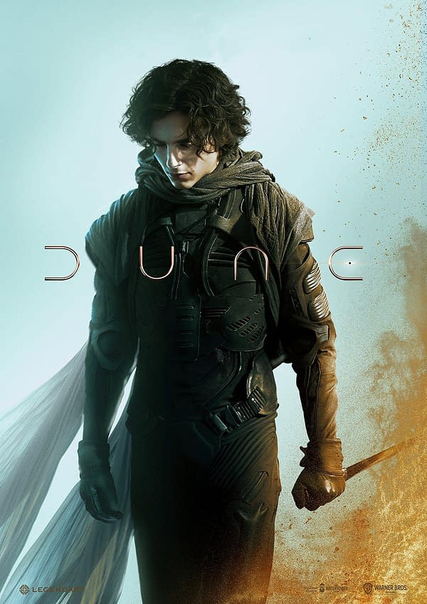 Another New Poster for Dune As The Release Date Nears