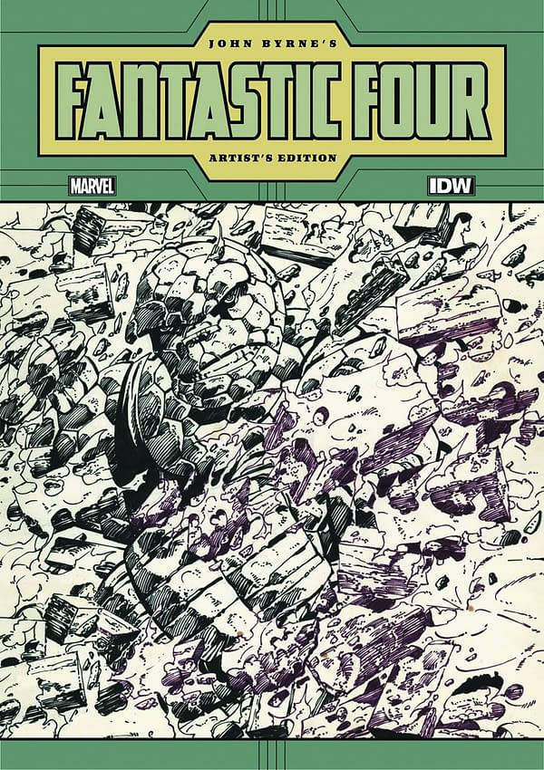 IDW To Publish John Byrne Fantastic Four Artist's Edition