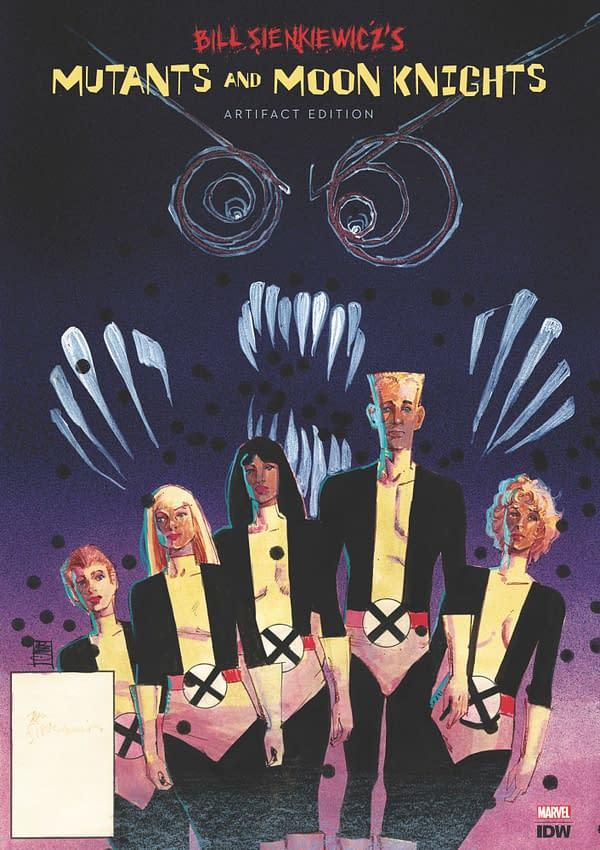 Bill Sienkiewicz Gets an IDW Artifact Edition Showcasing Classic Marvel Runs on New Mutants, Moon Knight, Elektra