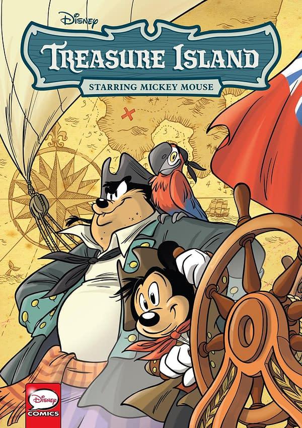 Dark Horse to Publish Disney Treasure Island Starring Mickey Mouse for Halloween