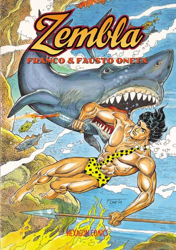 Joe Kubert's Foreword For Zembla, From Hexagon Comics in October 2020