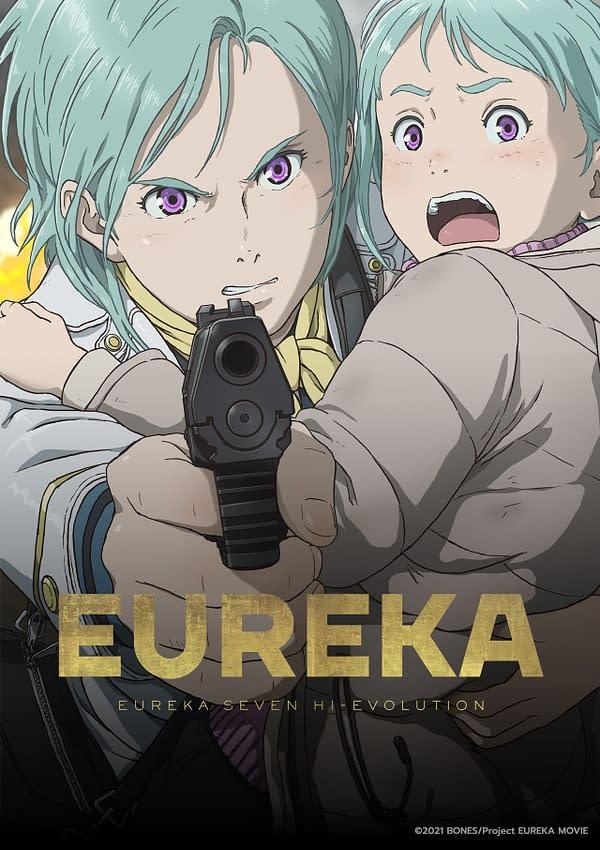 Art poster for Eureka: Eureka Seven Hi-Evolution, courtesy of Funimation.