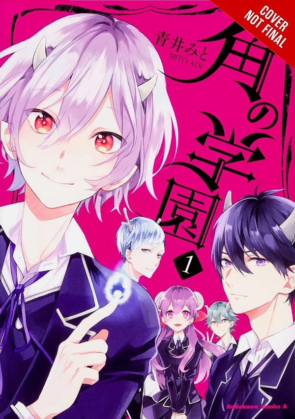Enroll in the School of Horns with the Yen Press July 2018 Solicits
