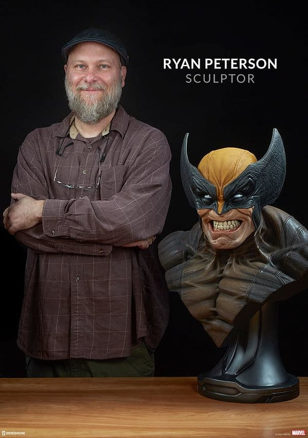 Wolverine Life-Size Bust Preorders Available Tomorrow from Sideshow