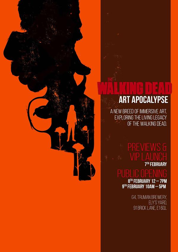 Walking Dead Immersive Art Gallery Opens in London