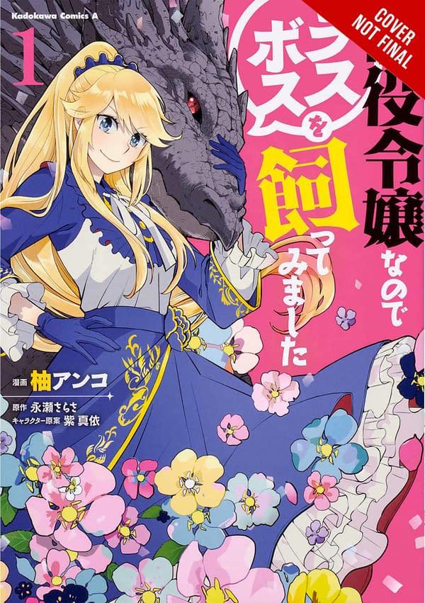 Yen Press Announces 8 New Upcoming Manga and Light Novel Titles