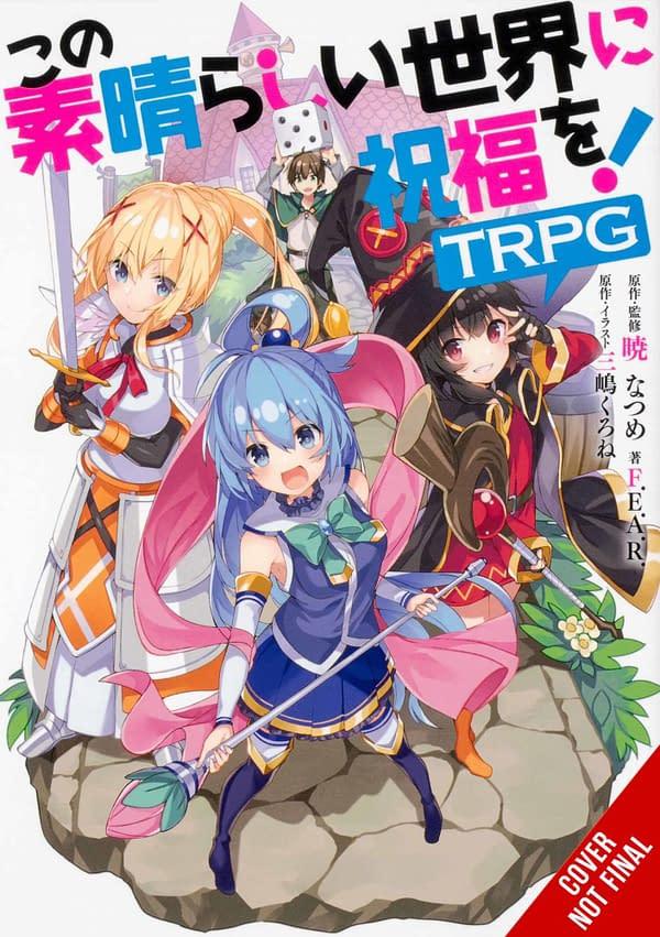 Yen Press Announces New Light Novels and Manga Titles