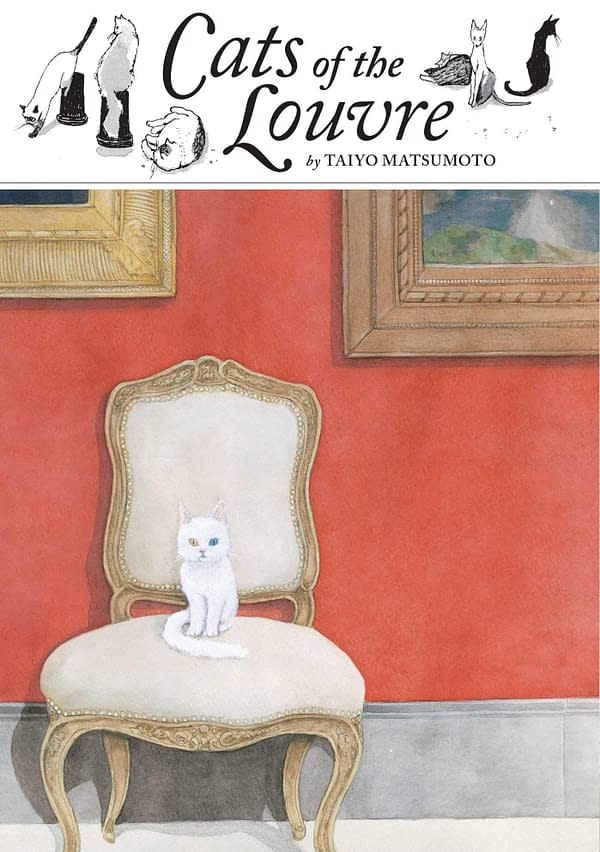 """""""Cats of the Louvre"""" is Taiyo Matsumoto's Fairy Tale About Grief and The Power of Art [Review]"""