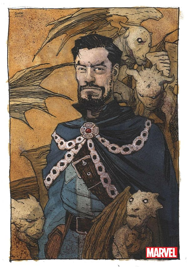 Donny Cates, Exclusive For Marvel, Writing Doctor Strange With Loki As Sorceror Supreme