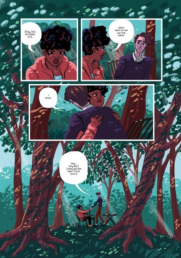 Mathew Rodriguez and Charlot Kristensen's New YA Queer Graphic Novel