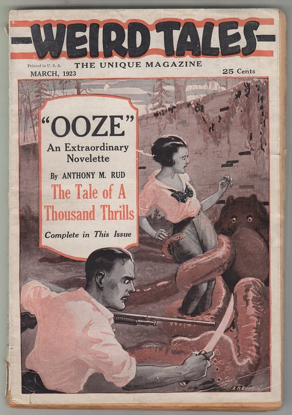 Weird Tales volume 1, #1 March 1923, First State copy.