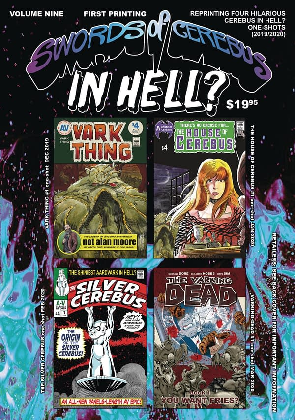 Cover image for SWORDS OF CEREBUS IN HELL TP VOL 09