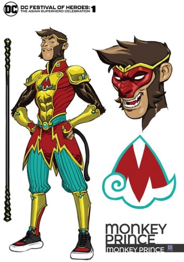 DC Comics Launch New Character Monkey Prince For Asian Anthology