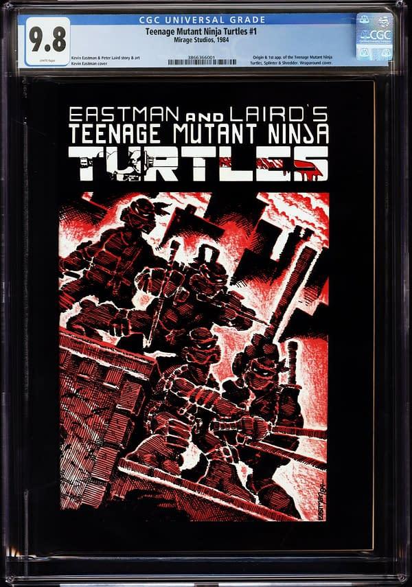 Teenage Mutant Ninja Turtles #1, Mirage Studios 1984.