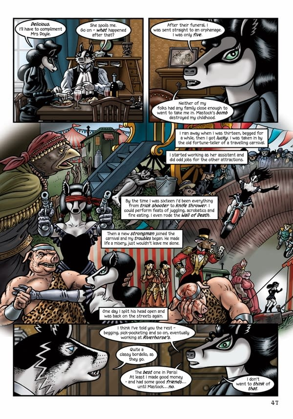 Exclusive Look Inside Bryan Talbot's Grandville: Force Majeure