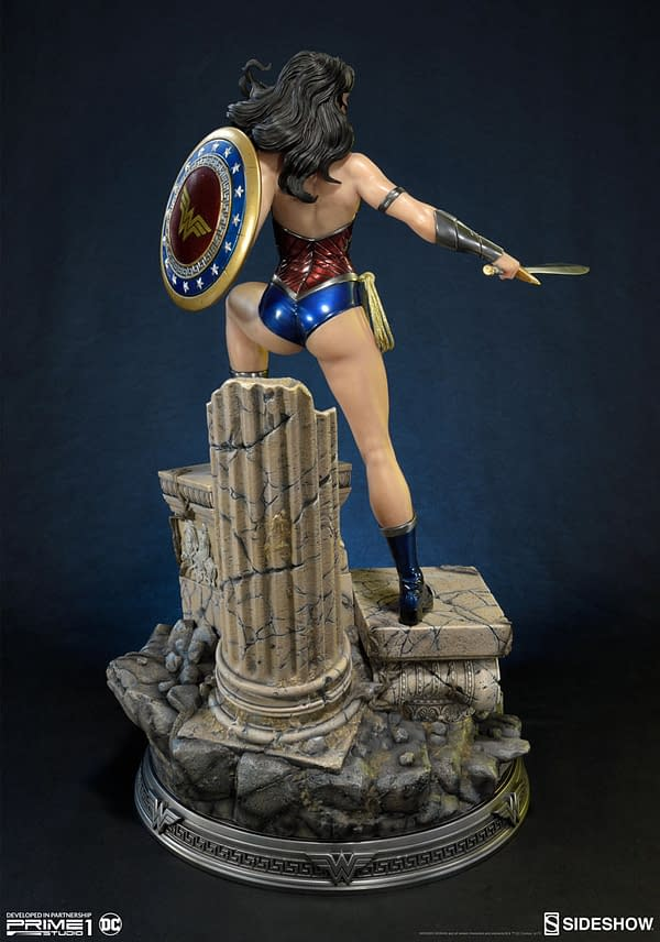 Wonder Woman Gets A New Statue From Prime 1 Studio