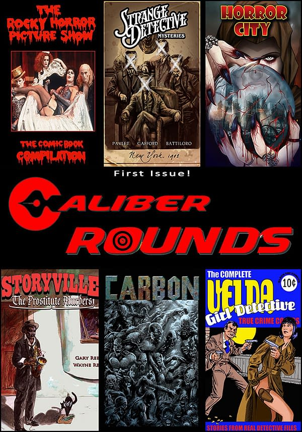 Caliber Rounds issue 1 cover600x900