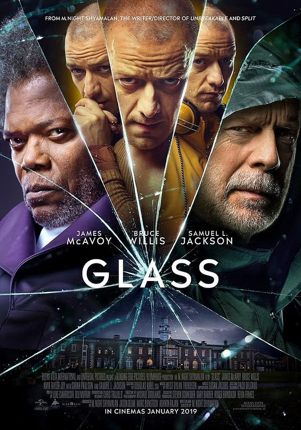 Box Office: 'Glass' Takes Top Spot, 'Dragon Ball Super' in 3rd