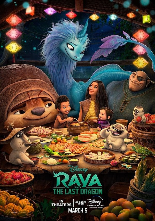 2 International Posters and Trailer for Raya and the Last Dragon