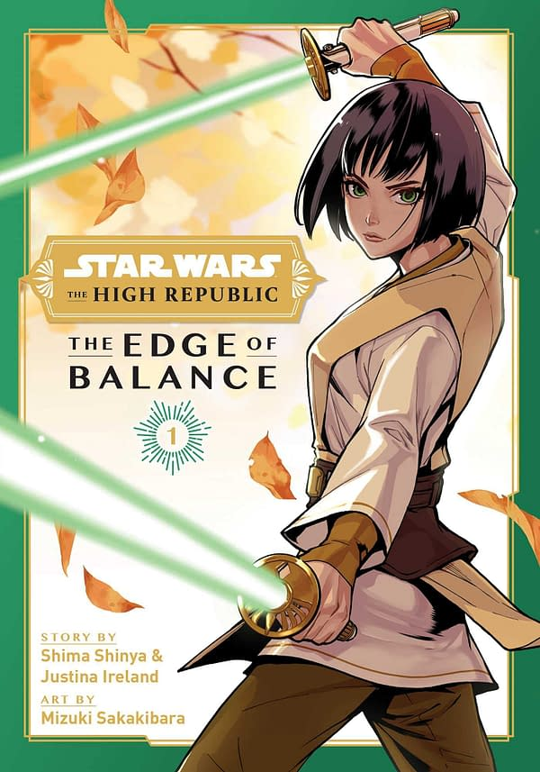 Star Wars: The High Republic: Edge of Balance Manga Out This Week