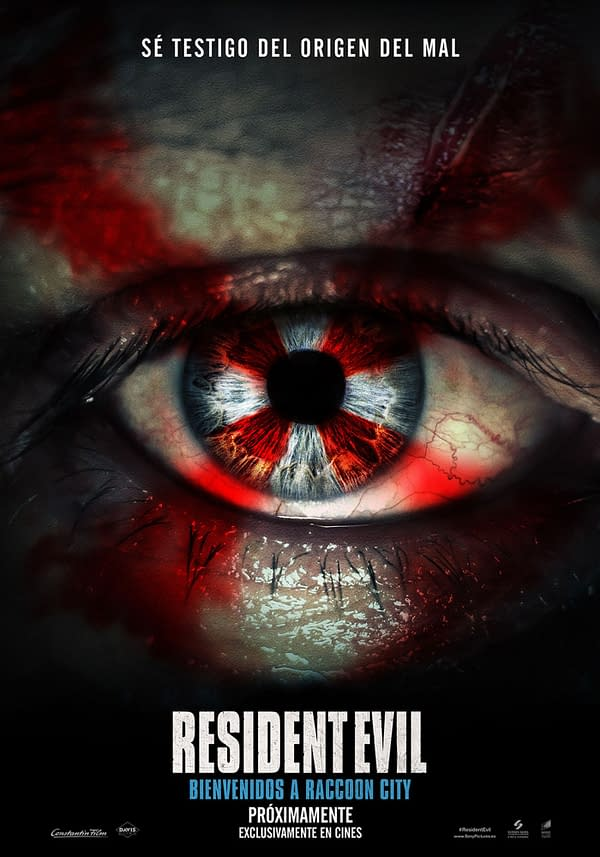 Resident Evil: Welcome To Raccoon City: International Poster, 2 Images