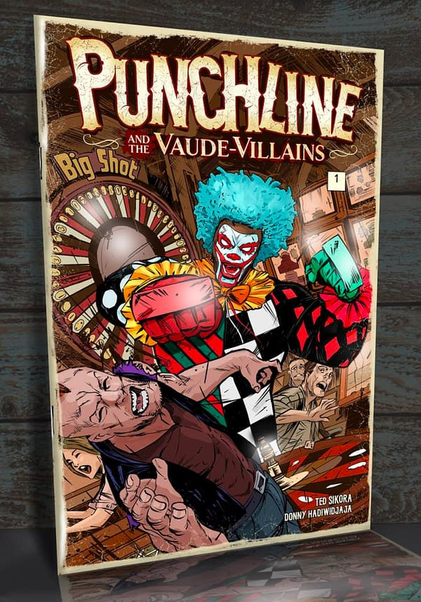 Punchline sees Tomorrow Comics Switch Distribution To Kickstarter