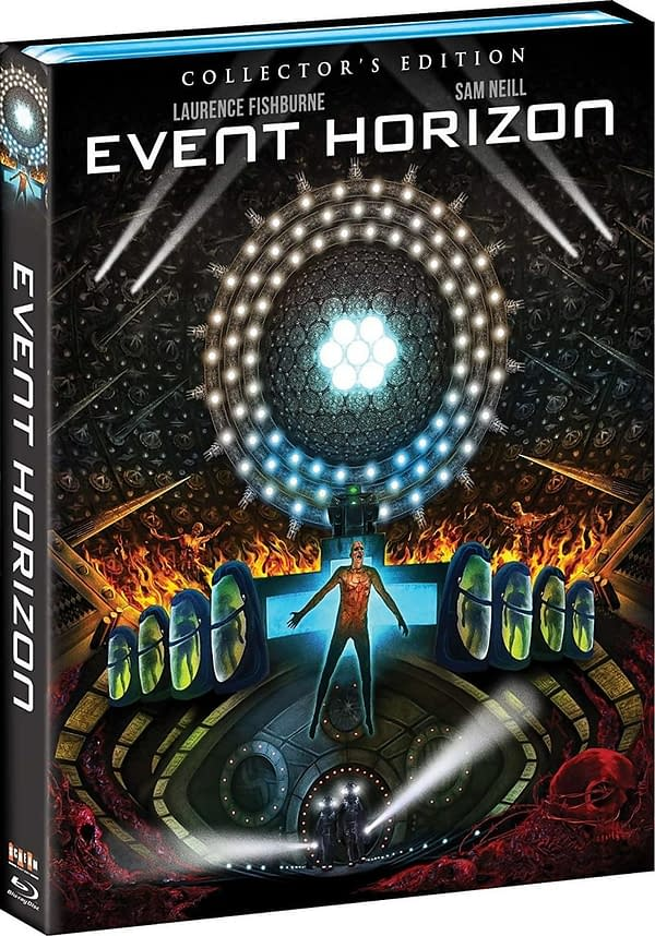 Event Horizon Scream factory Blu-ray Details Released, Out March