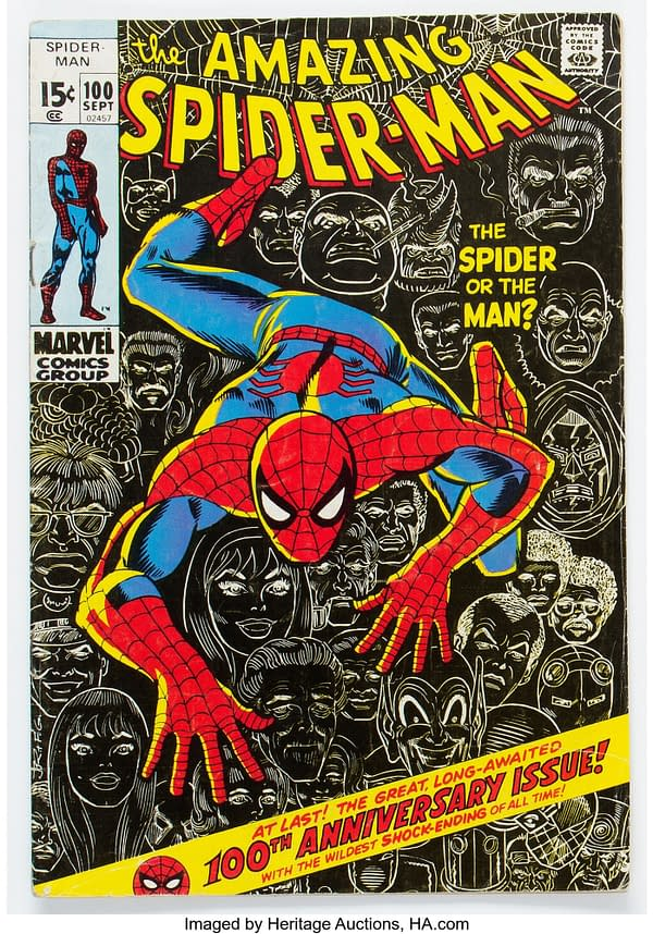 Amazing Spider-Man #100 On Auction Right Now At Heritage Auctions