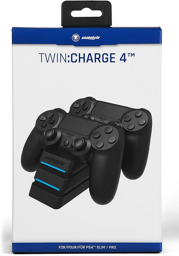 Can We Dump These Cords? We Review the Snakebyte Twin: Charge 4 for PS4