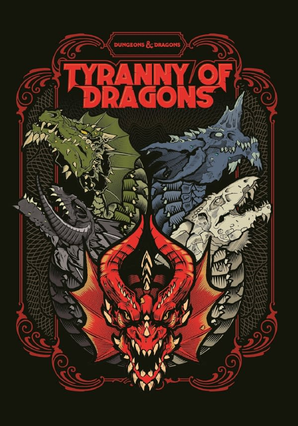 """""""Dungeons & Dragons"""" Announced """"Tyranny Of Dragons"""" at SDCC 2019"""