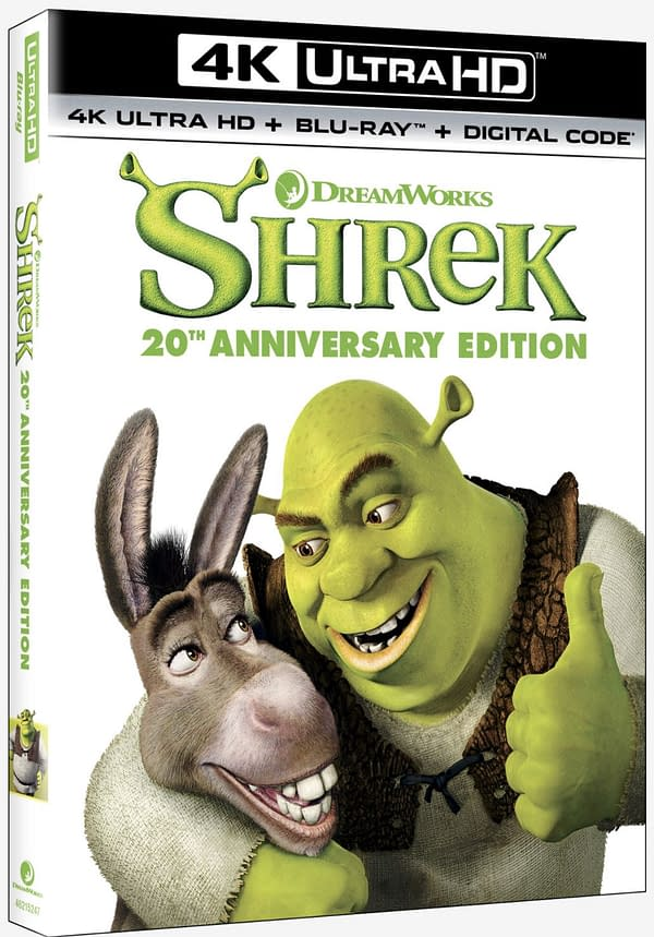 Shrek Celebrates 20 Years With New 4K Release On May 11th