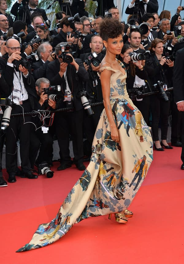 Thandie Newton's Star Wars Cannes Dress for 'Solo' Premiere Is Amazing
