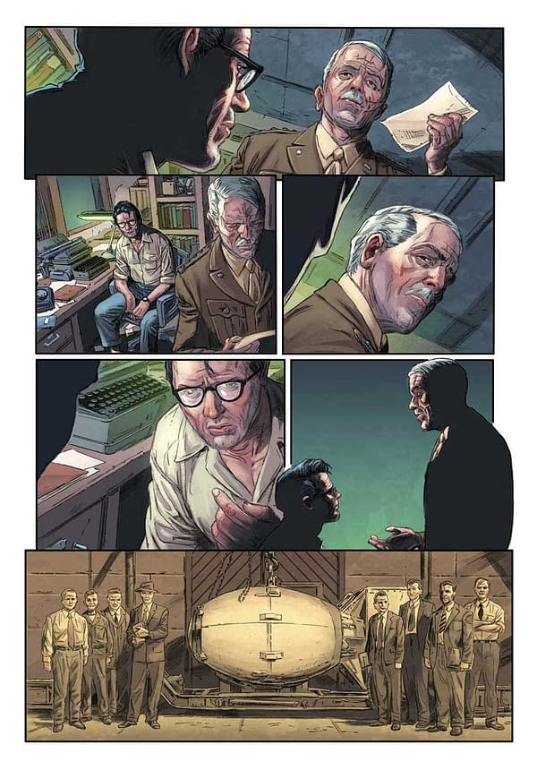 Matt Kindt and Doug Braithwaite's Eniac #1 From Bad Idea Comics, In 20 Stores Only on May 6th