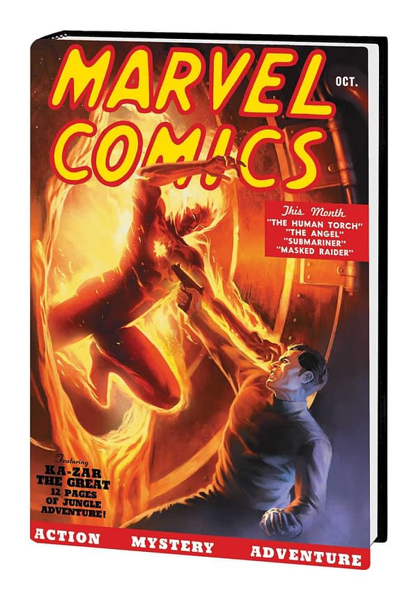 Marvel Comics #1 Gets a $30 80th-Anniversary Edition